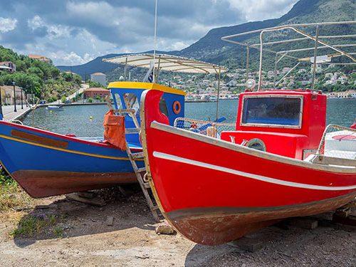 Ithaki boats