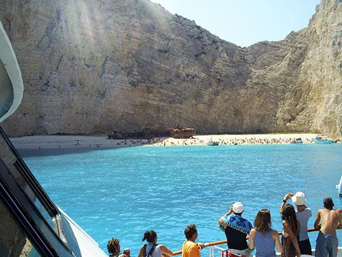 Zakynthos yacht excursion